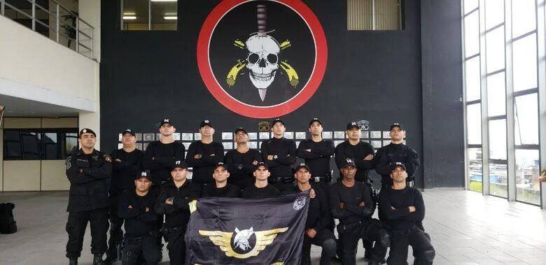 Guardas Municipais de São Carlos participam de treinamento no BOPE - Crédito: Divulgação