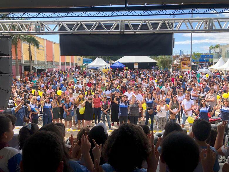 Quebrando o Silêncio reúne 5 mil pessoas em São Carlos - Crédito: Divulgação
