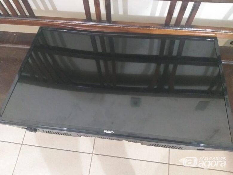 Ladrão é detido após furtar TV de residência - Crédito: Divulgação