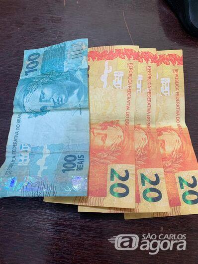 Notas falsas são apreendidas no Jardim Bicão; procurado por tráfico vai para a cadeia - Crédito: Divulgação