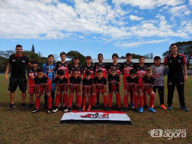 Sub11 do Multi Esporte/La Salle é campeão invicto - Crédito: Divulgação