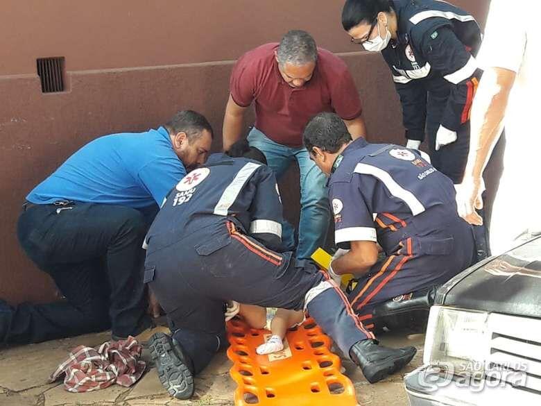 Criança de 4 anos fica ferida após colisão no centro de São Carlos - Crédito: Maycon Maximino