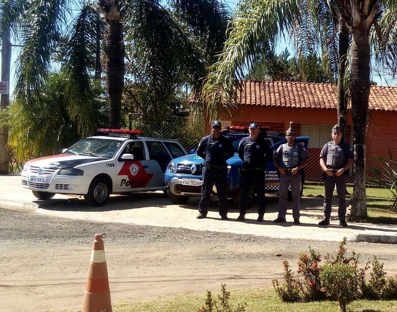 Operação Interior Mais Seguro faz patrulhamento na área rural de São Carlos - Crédito: Divulgação