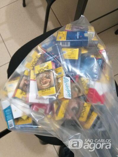 Ladrão é detido durante tentativa de furto a supermercado - Crédito: Divulgação