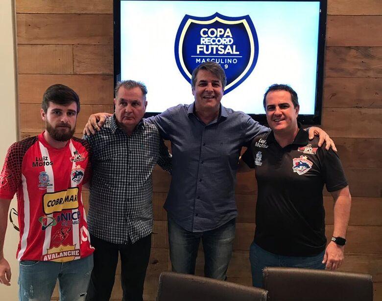 São Carlos Futsal busca o bicampeonato da Copa Record - Crédito: Divulgação