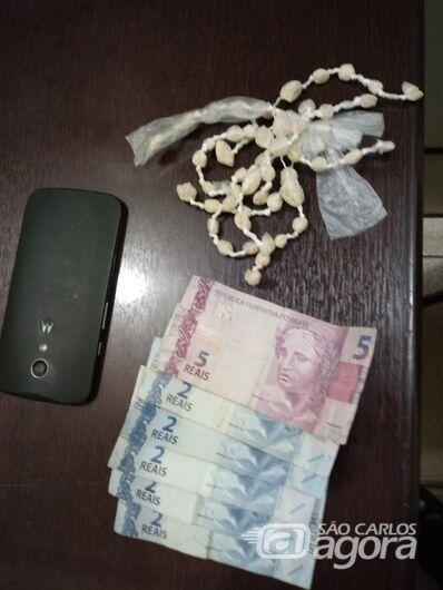 Após tentativa de fuga, acusado de tráfico é detido em Ribeirão Bonito - Crédito: Divulgação