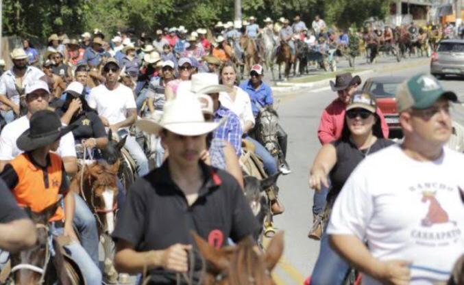 Cavalgada de São Roque promete agitar Água Vermelha e região - Crédito: Divulgação