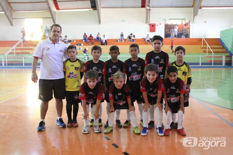 Invicto, sub8 do Multi Esporte/La Salle está na semifinal do Paulista Sul Minas - Crédito: Divulgação
