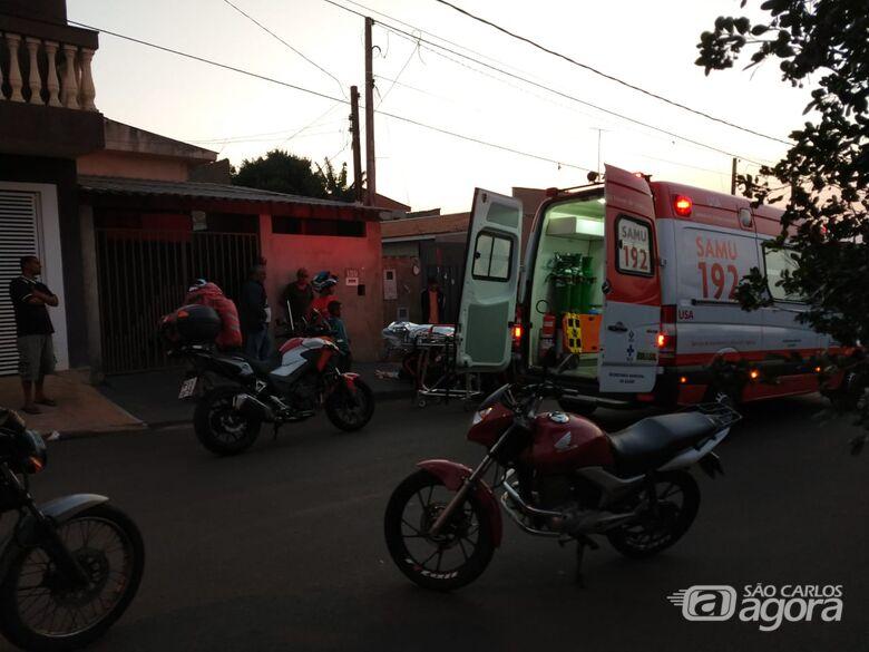 Homem fica ferido após cair de escada no Cidade Aracy - Crédito: Luciano Lopes