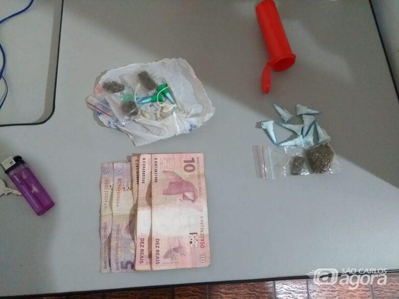 Acusado de tráfico é detido no Jardim Beatriz - Crédito: Divulgação