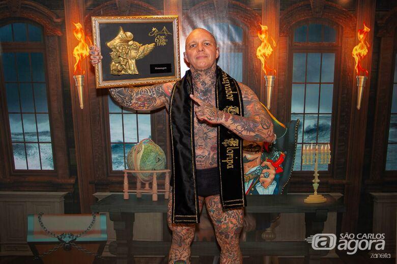 6ª edição da Expo Tattoo Floripa ganha Embaixador são-carlense - Crédito: Ricardo Zanetta