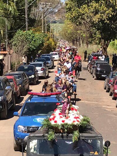 Cavalgada de São Roque bate recorde de participantes - Crédito: Divulgação