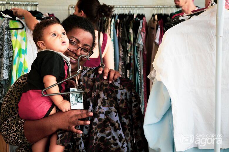 Feira Itinerante e solidária visa dar visibilidade aos empreendedores de brechós - Crédito: Rodrigo Espíndola