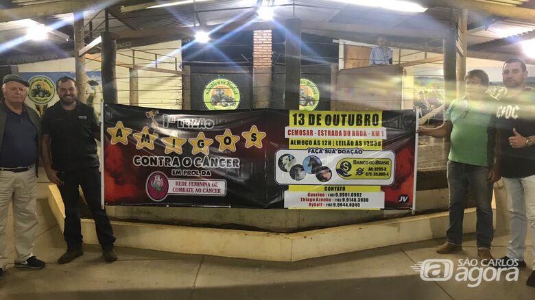 """Pecuaristas mobilizam doações para leilão """"Amigos Contra o Câncer"""" - Crédito: Divulgação"""