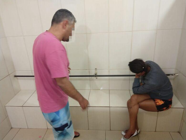 Rocam encontra criança abandonada em residência ao cumprir mandado de prisão - Crédito: Luciano Lopes