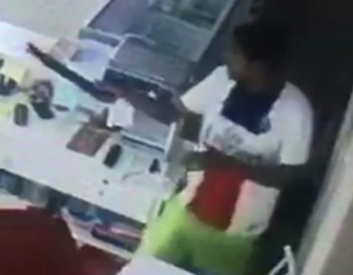 Após assaltar pizzaria, dupla é detida pela PM - Crédito: Divulgação