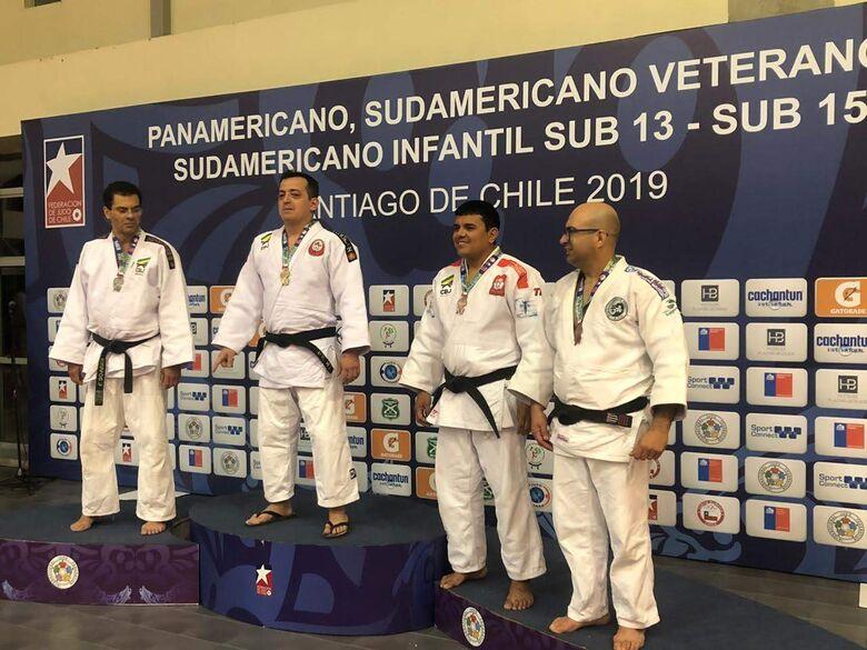 São-carlense conquista título pan-americano de judô - Crédito: Divulgação