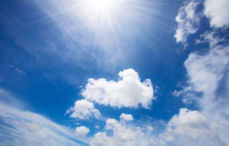 Final de semana será de tempo firme e temperaturas em elevação - Crédito: Divulgação