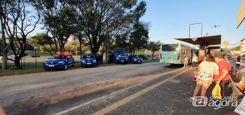 GM realiza operação próximo à rodoviária - Crédito: Divulgação