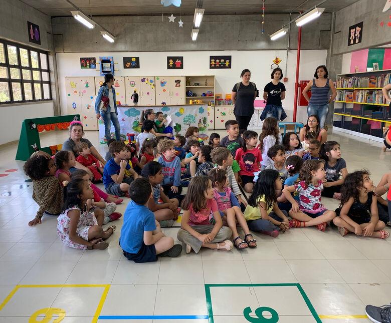 Crianças participam e brinquedoteca é inaugurada na UFSCar - Crédito: Adriana Arruda - CCS/UFSCar