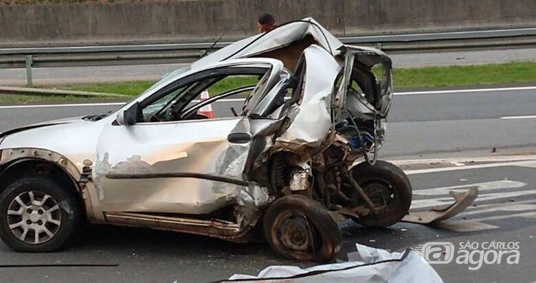 Acidente mata duas mulheres na rodovia Anhanguera - Crédito: Reprodução