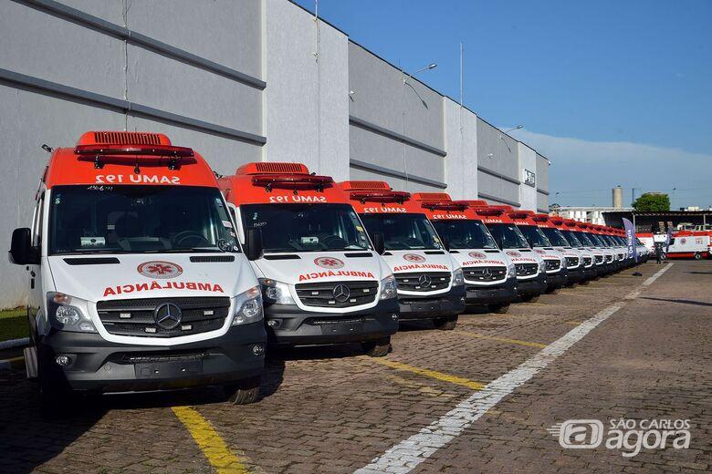 Mais de 860 ambulâncias novas vão reforçar Samu - Crédito: Rovena Rosa/Agência Brasil