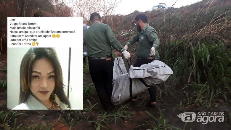 Corpo de travesti que foi desovado em São Carlos pode ser de Bruna Torres - Crédito: Arquivo/SCA