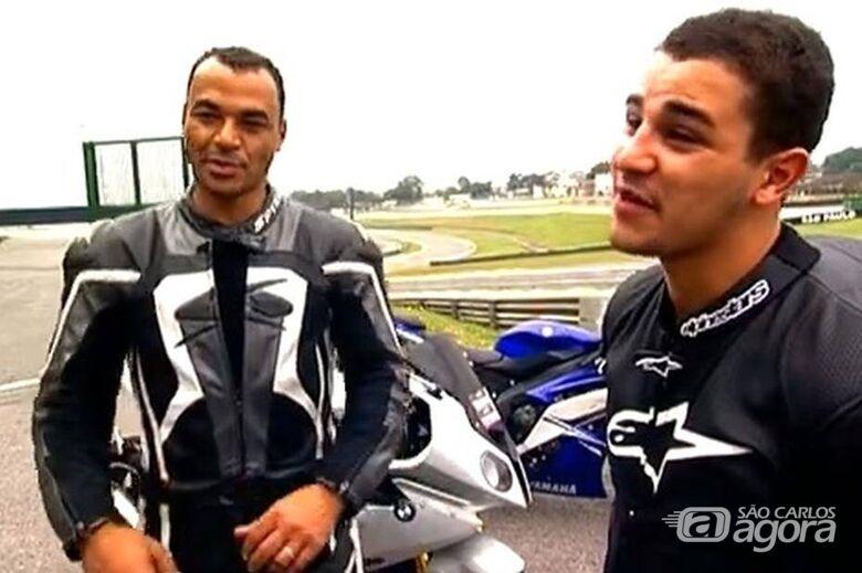 Filho do ex-jogador Cafu morre após passar mal em jogo de futebol - Crédito: Cafu e Danilo (TV Globo/Reprodução)