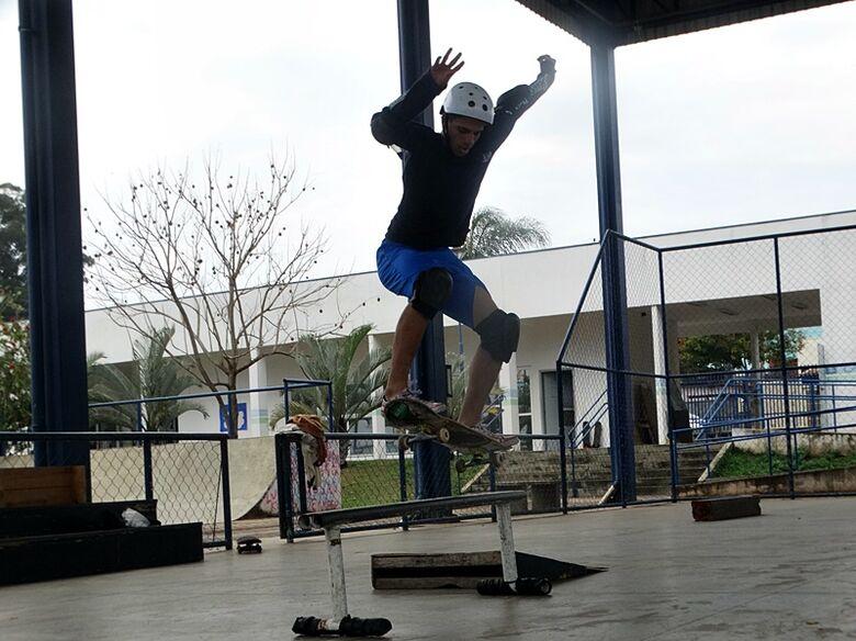 Skate Cidadão forma são-carlense campeão paulista; Victor agora quer o título brasileiro - Crédito: Marcos Escrivani