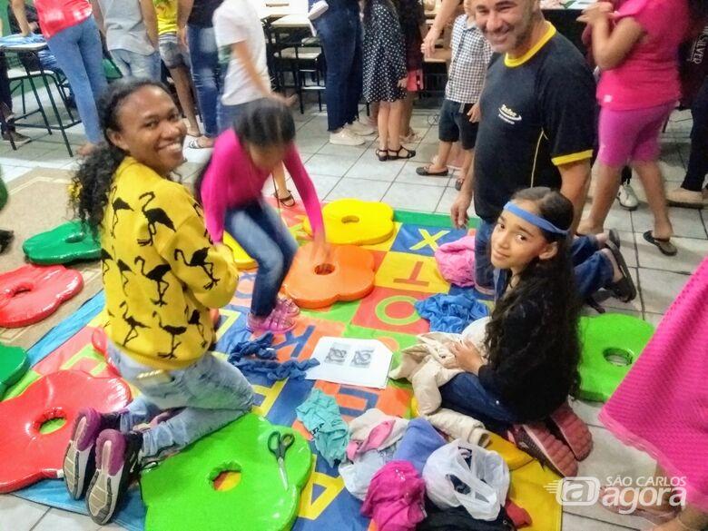 EM Profª Maria Luiza realiza a Festa da Família com pais e alunos - Crédito: Divulgação