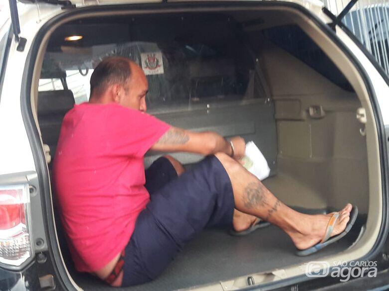 """Acusado de matar """"Bicudinho"""" é preso pela DIG - Crédito: Maycon Maximino"""