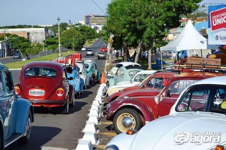 Apaixonados por Fuscas realizam encontro em São Carlos - Crédito: Arquivo/SCA