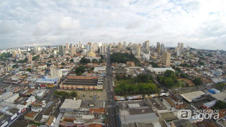 São Carlos pode ter temperaturas chegando perto do 40ºC nesta quinta-feira - Crédito: OWL Drones