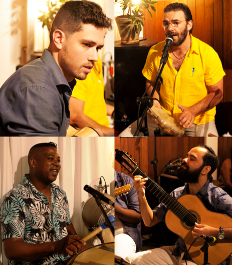 O melhor do samba nos palcos do Sesi São Carlos com entrada gratuita - Crédito: Divulgação