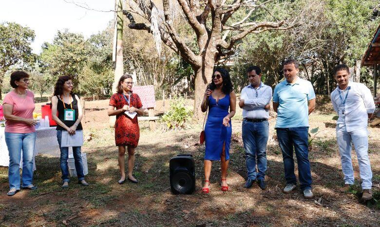 Inaugurado Espaço de Cultivo de Plantas Medicinais José Luís Rabello na Horta Municipal -