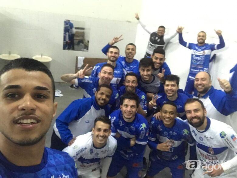 São Carlos vence no Sul e se qualifica para a segunda fase da Liga Nacional - Crédito: Divulgação