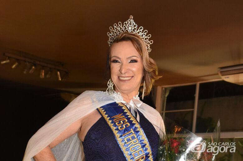 Eleitos Miss e Mister Terceira Idade em São Carlos - Crédito: Divulgação