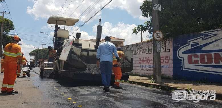Veja quais ruas serão recapeadas nesta terça-feira (10) - Crédito: Divulgação