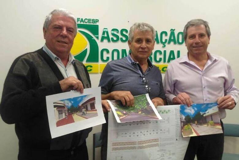 Obras de readequação do calçadão começam dia 16 de setembro - Crédito: Divulgação