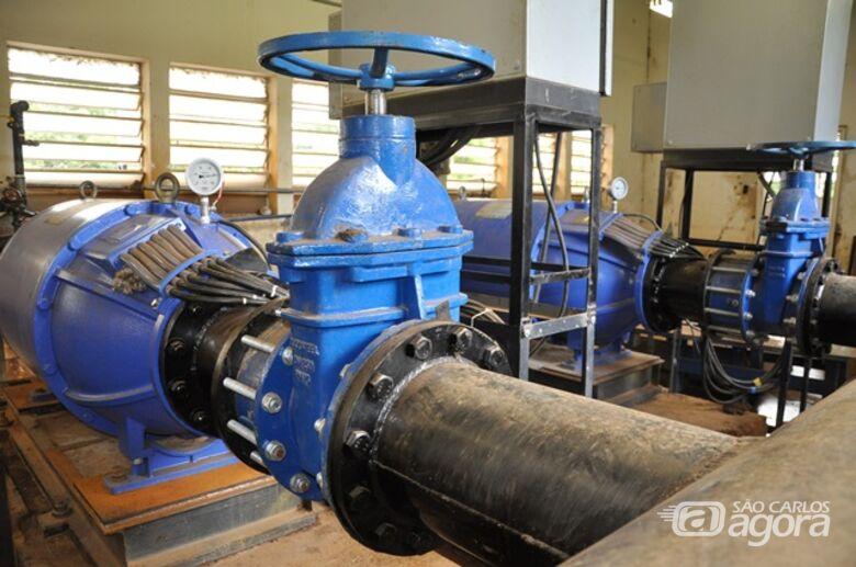 SAAE realizará limpeza do poço de sucção das bombas de recalque de água bruta na madrugada de domingo - Crédito: Divulgação