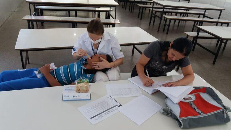 Programa do Departamento de Saúde de Ibaté busca conscientizar crianças e prevenir doenças bucais - Crédito: Divulgação