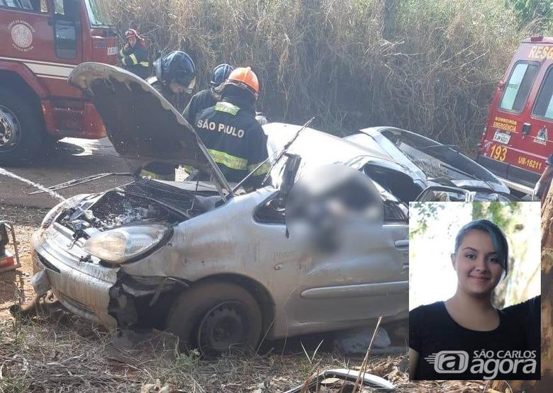 Irmãs sofrem acidente, uma morre e outra fica apenas com escoriações em Araras - Crédito: Grupo Rio Claro SP