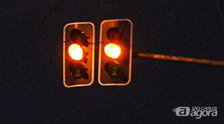 Semáforos da avenida Getúlio Vargas vão operar no amarelo intermitente a partir de sábado - Crédito: Divulgação