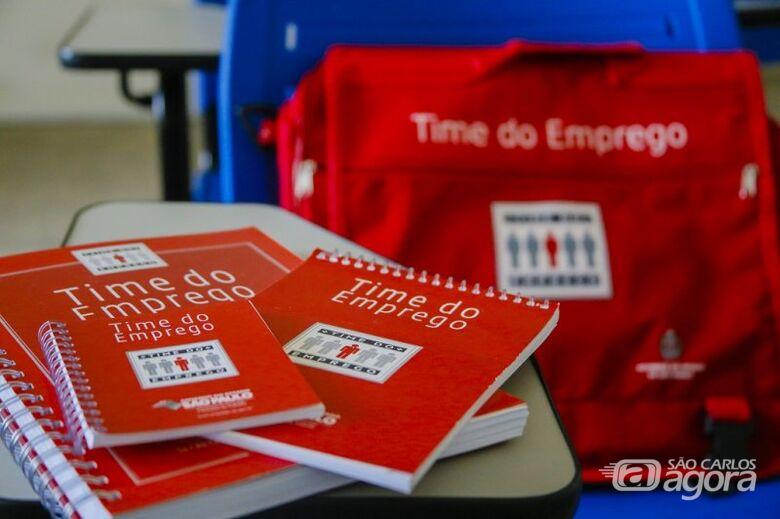 Prefeitura abre inscrições para novas turmas do Time do Emprego - Crédito: Divulgação