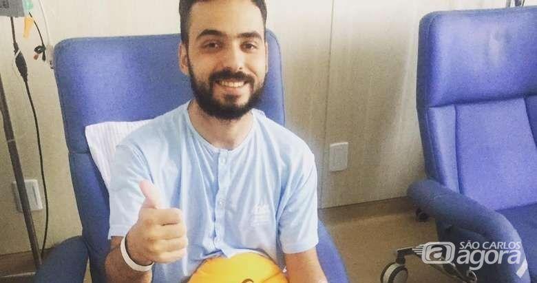 SCA lança campanha para ajudar jovem com tumor na coluna - Crédito: Divulgação