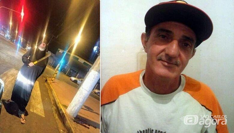 Identificado morador de rua que morreu atropelado na avenida São Carlos - Crédito: Arquivo Pessoal