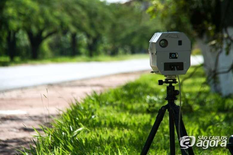 Confira os locais dos radares móveis nesta terça-feira - Crédito: Arquivo SCA