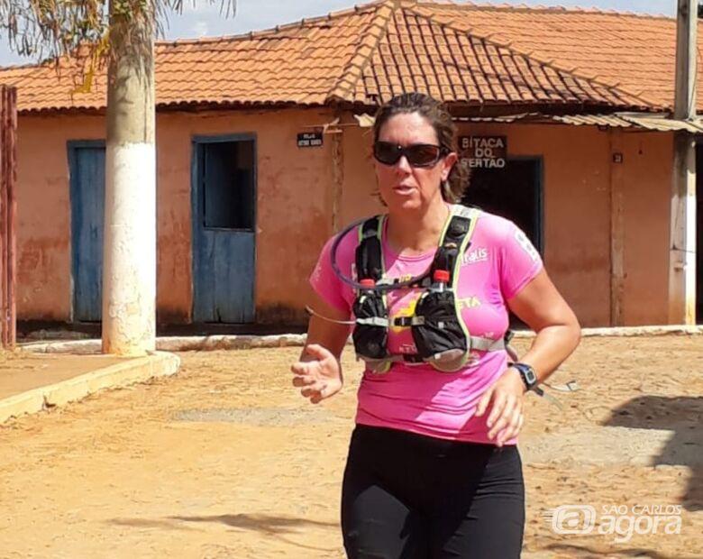 São-carlense, na superação, é vice-campeã em prova de ultramaratona - Crédito: Divulgação