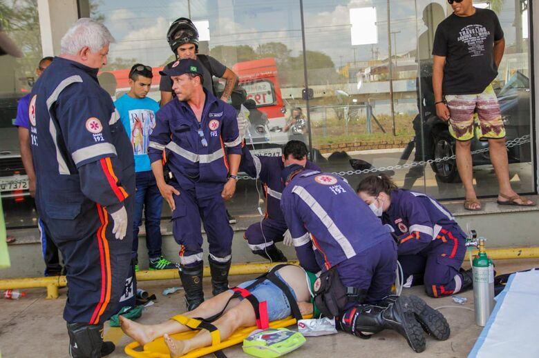 Mulher que teve parada cardiorrespiratória revertida morre na Santa Casa - Crédito: Marco Lúcio