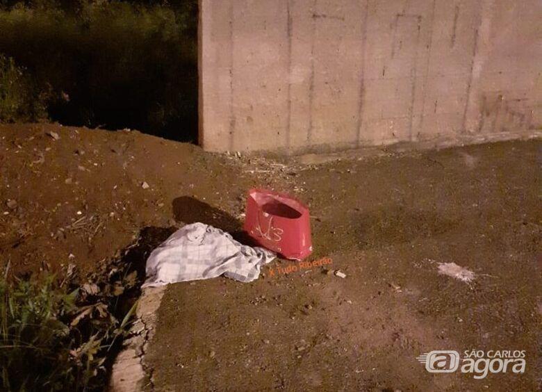 Corpo de bebê recém-nascido é encontrado em sacola em Ribeirão Preto - Crédito: Xtudoribeirao
